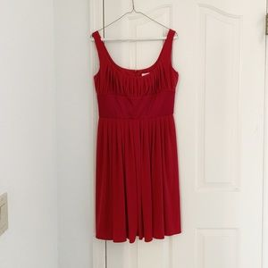 NWT Suzi Chin Maggy Boutique Red Cocktail Dress
